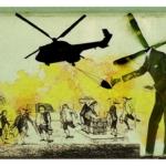 Helicópteros a voar por cima da lei